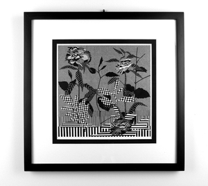 """Night Garden"" print in Artspace's online auction"