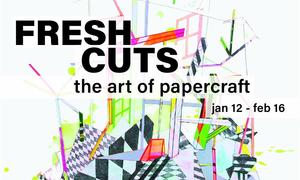 """""""Fresh Cuts: The Art of Papercraft"""" at Crooked Tree Arts Center"""
