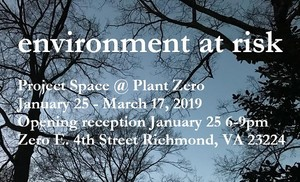 """Environment at Risk"" at Plant Zero Project Space"