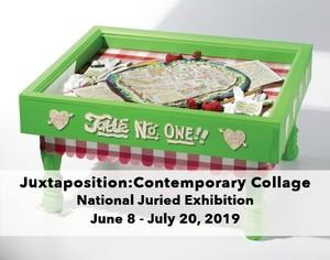 Juxtaposition: Contemporary Collage at Barrett Art Center
