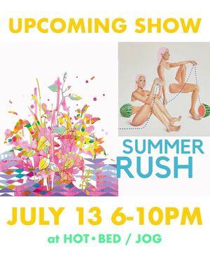 Summer Rush at JOG and HOT•BED
